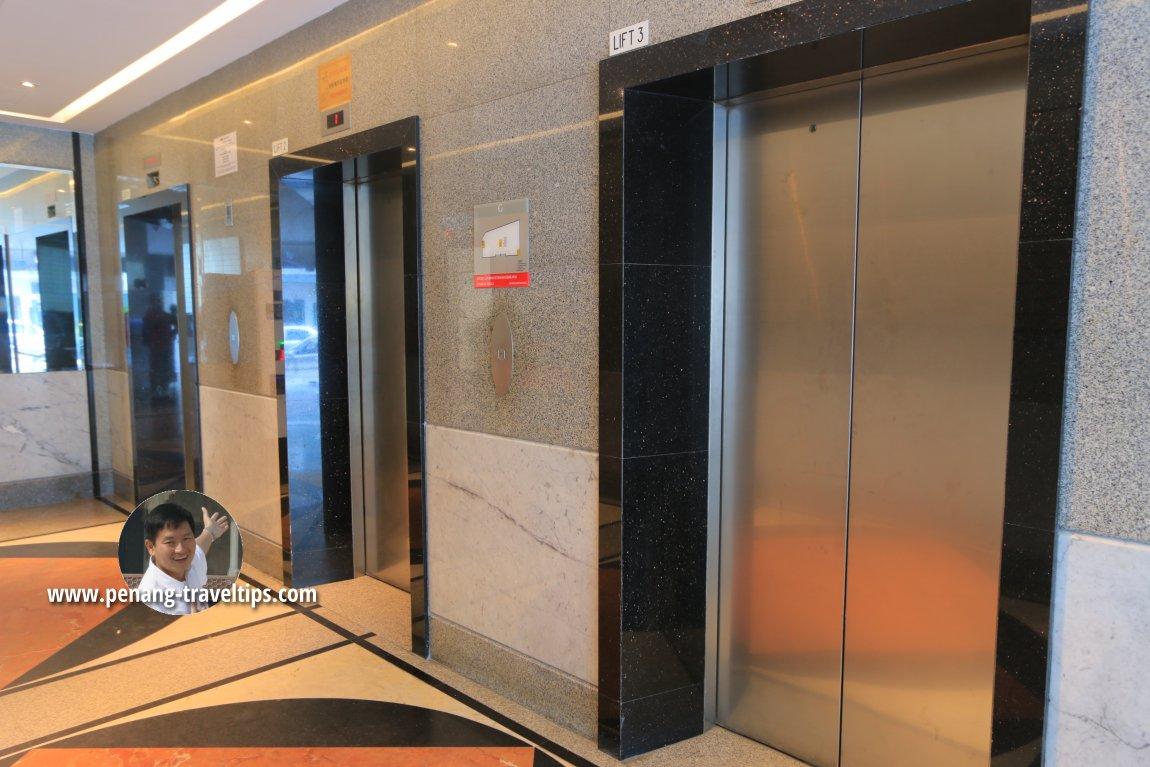 Lift landing, Urban H Hotel