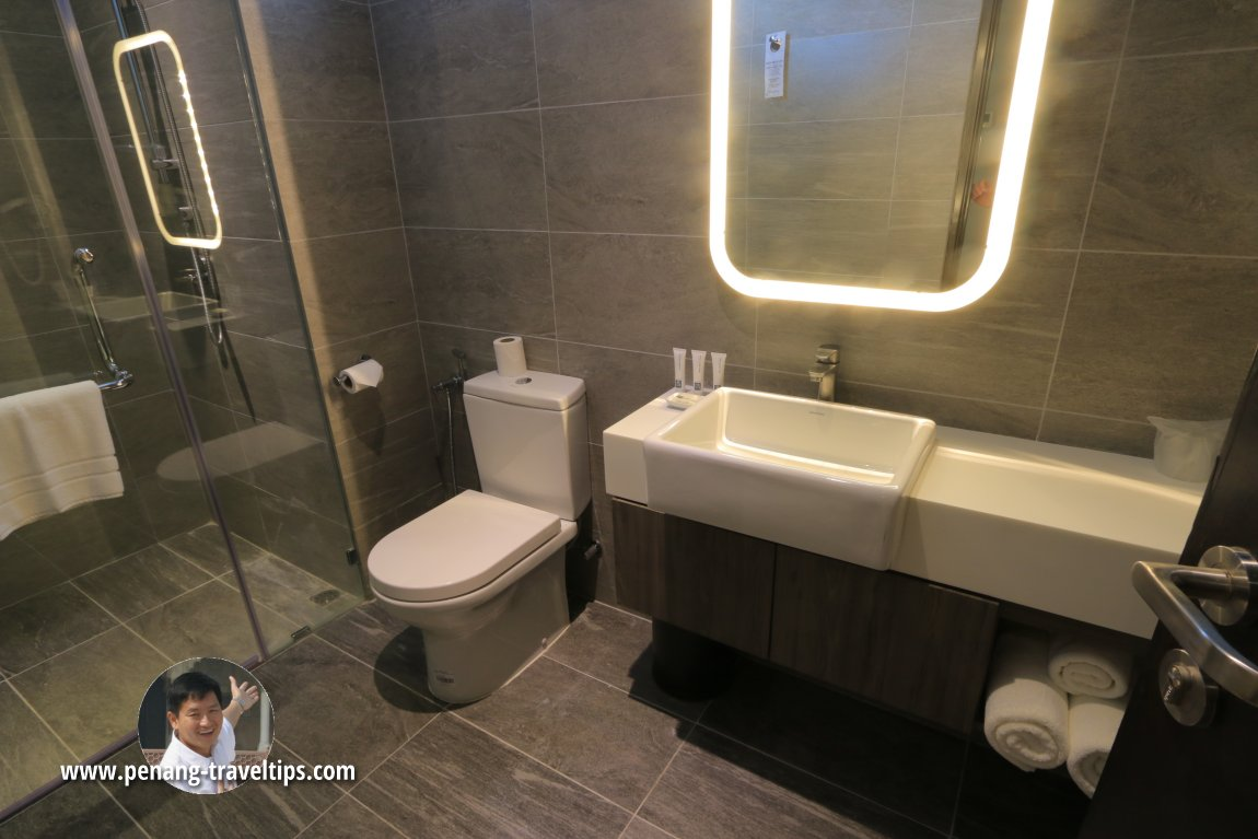 One of the washrooms in The Residence