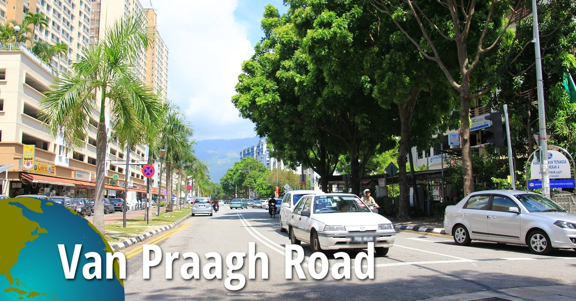 Van Praagh Road, Penang