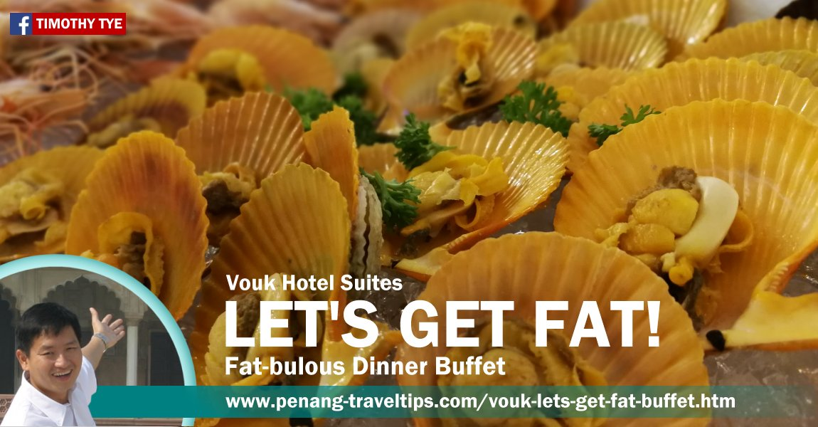 LET'S GET FAT! @ Vouk Hotel Suites