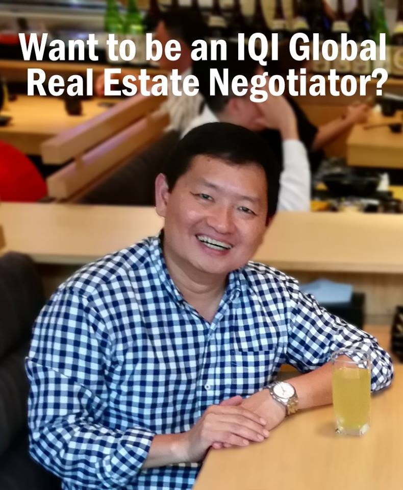 Become an IQI Global Real Estate Negotiator