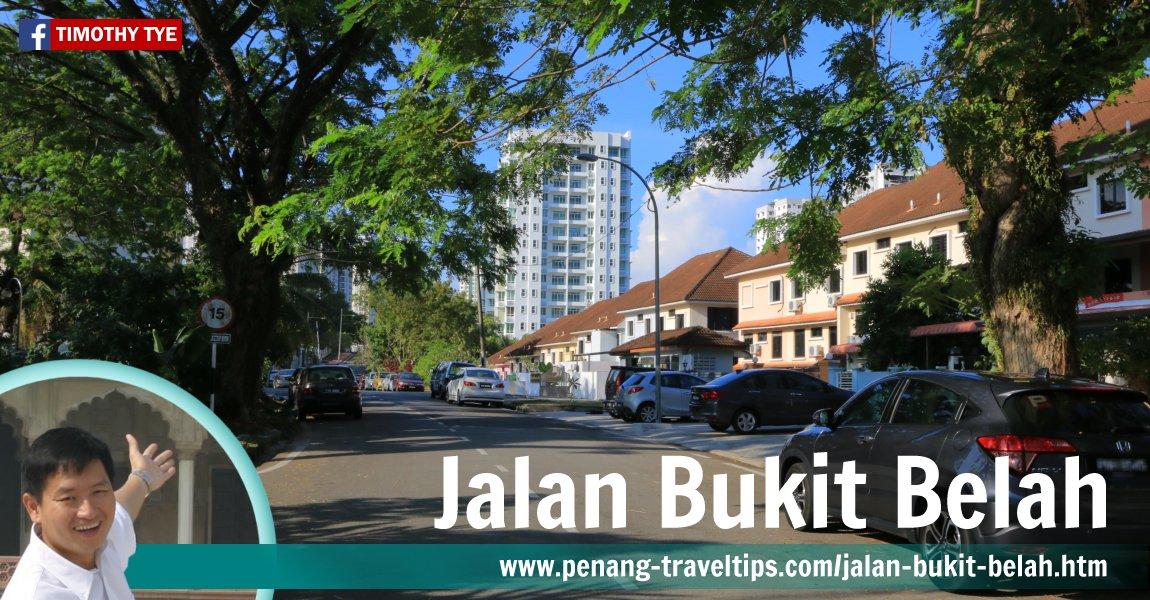 Jalan Bukit Belah, Teluk Kumbar, Penang