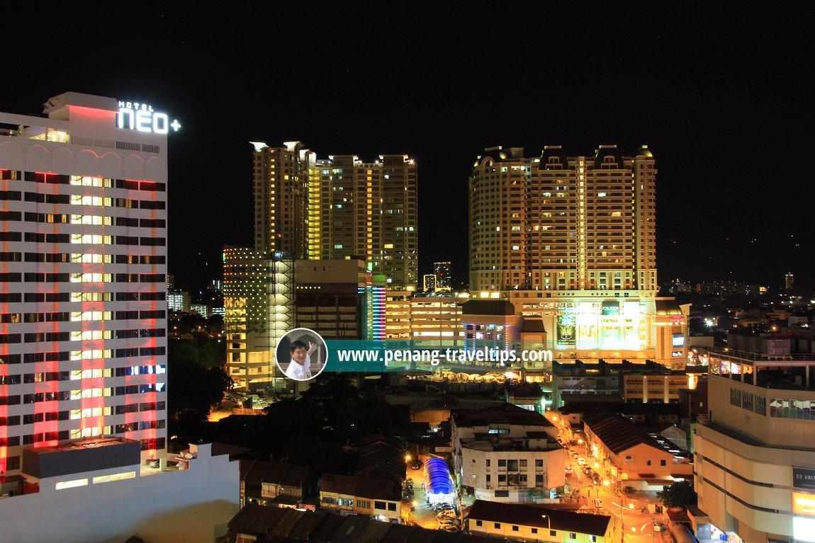 Penang Times Square at night
