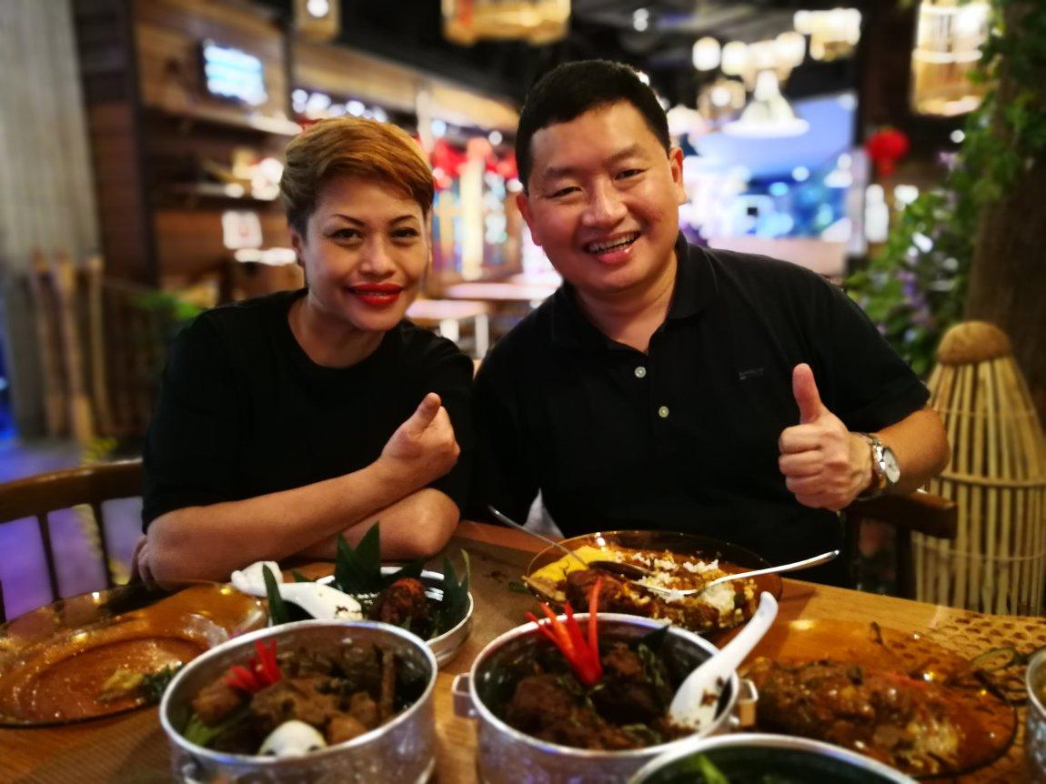 Kari Asam Pedas, Umi Restaurant, The TOP