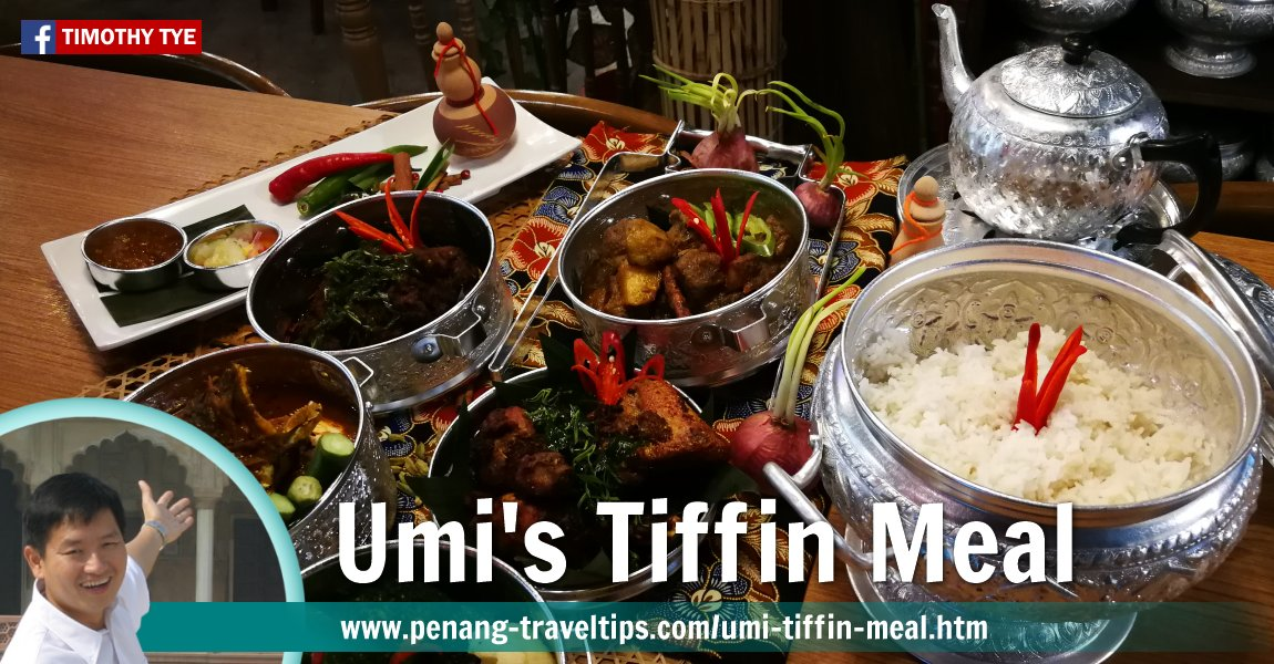 Tiffin Meal at Umi Restaurant, The TOP