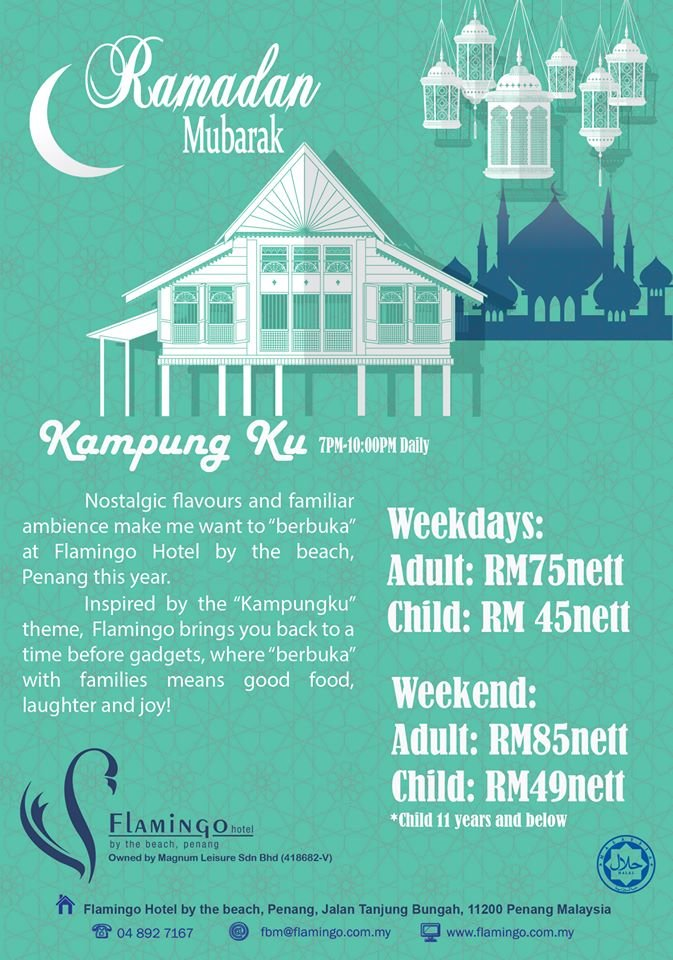Kampung Ku Buffet at Flamingo Hotel By The Beach