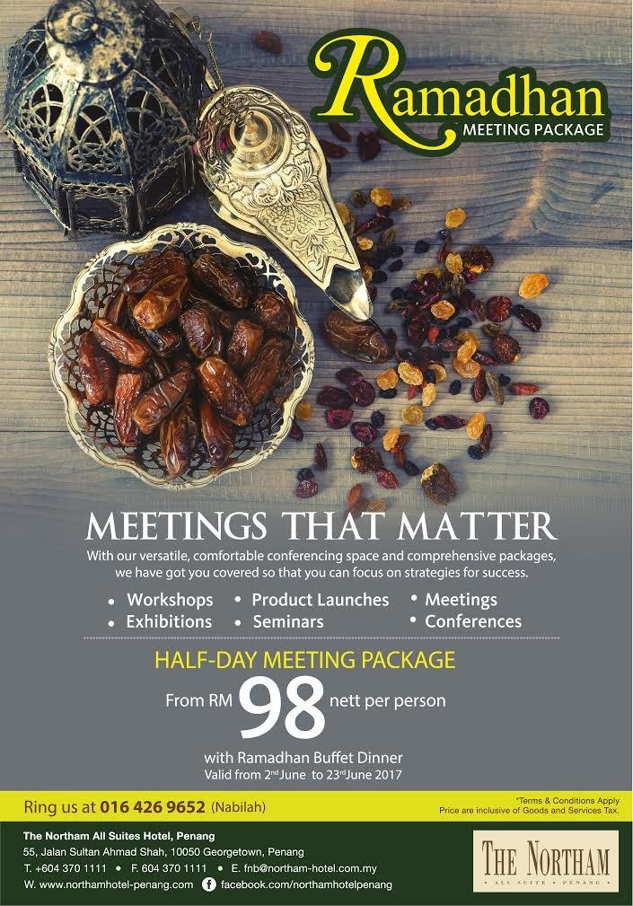 The Northam Ramadhan Meeting Package