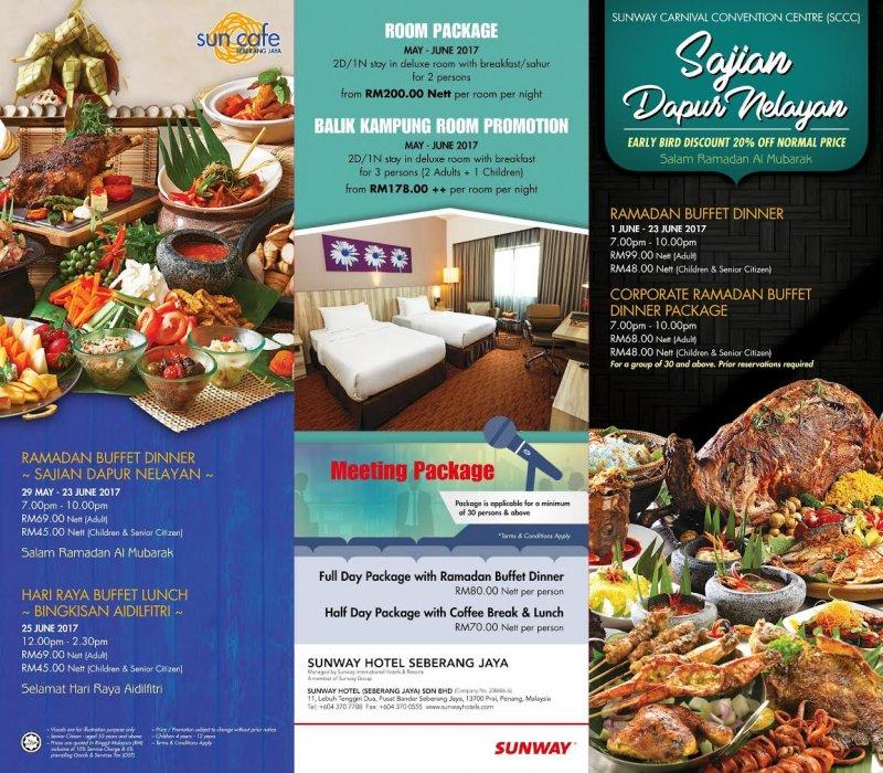 Sajian Dapur Nelayan, Sunway Hotel Seberang Jaya