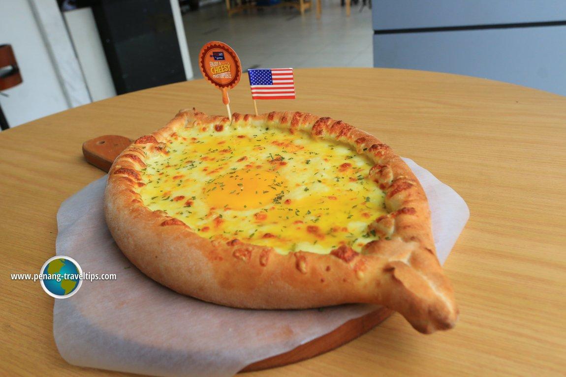 The Adjaruli Khachapuri artisanal pizza