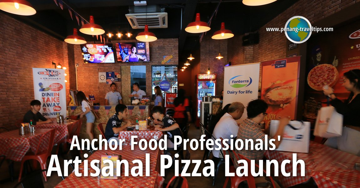 Anchor Food Professionals' Artisanal Pizza Launch