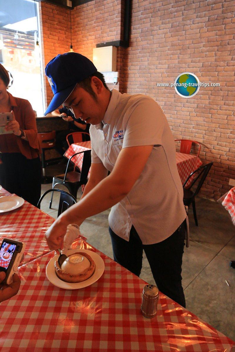 The Pot Pie artisanal pizza