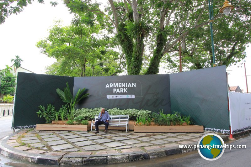 Armenian Park in the works
