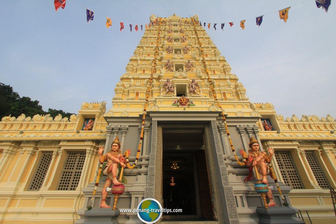 Entrance to the Arulmigu Balathandayuthapani Temple