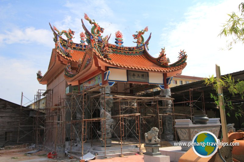 Bagan Ajam Hong San Si Temple under construction