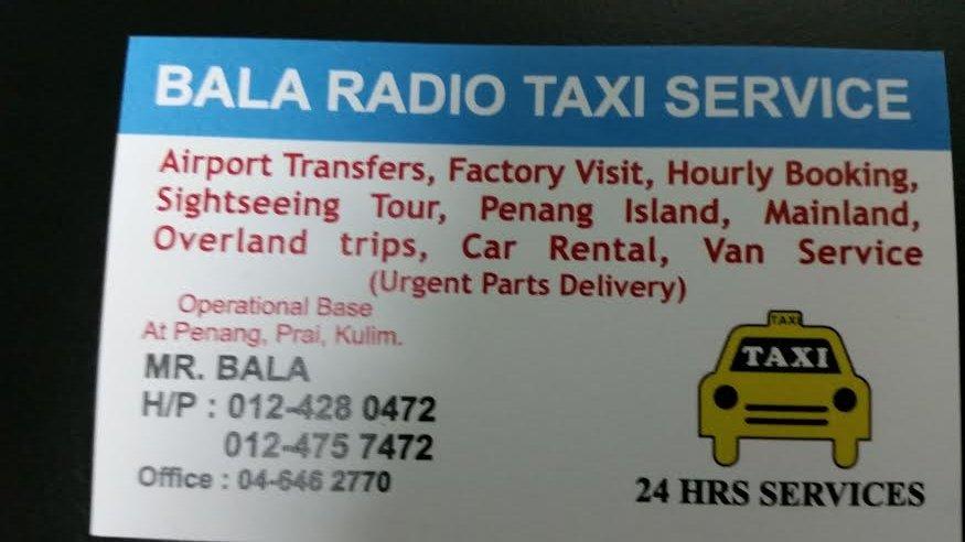 Bala Radio Taxi Service