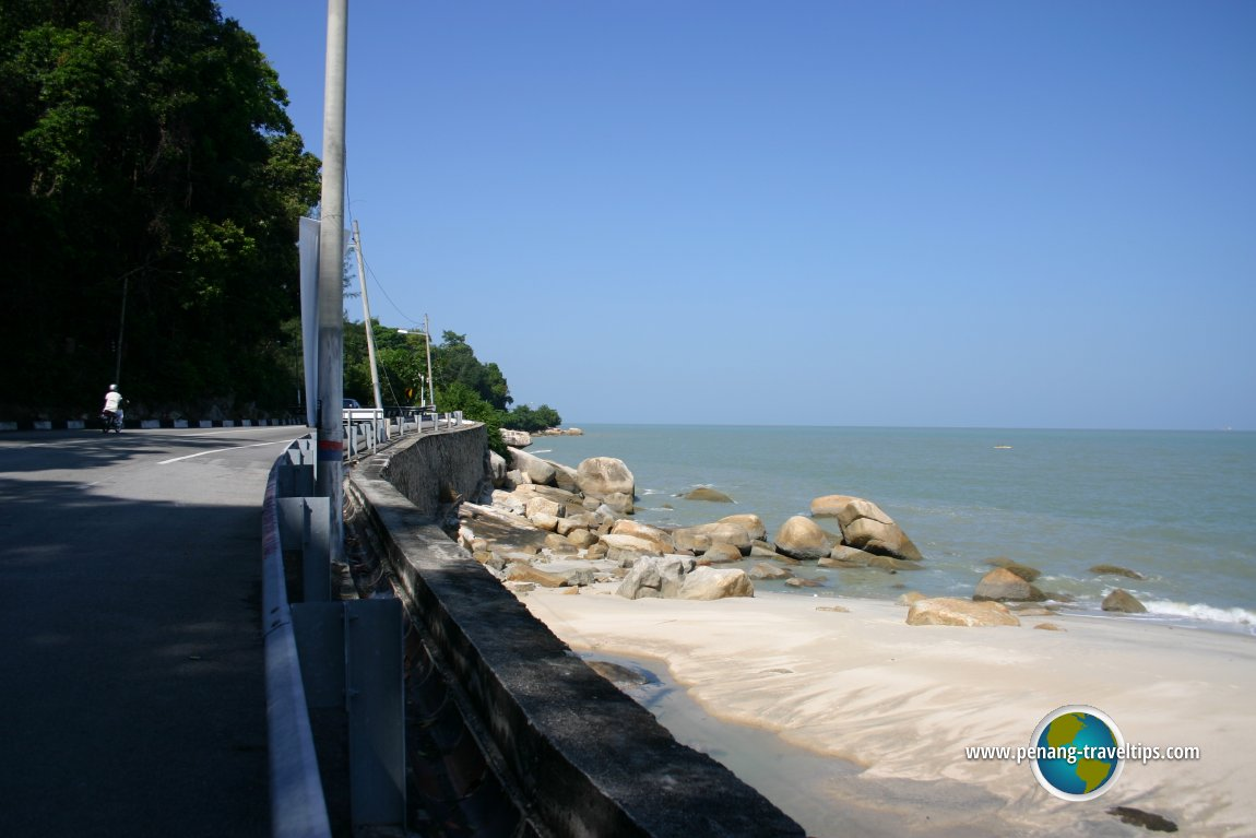 Batu Ferringhi coastal road