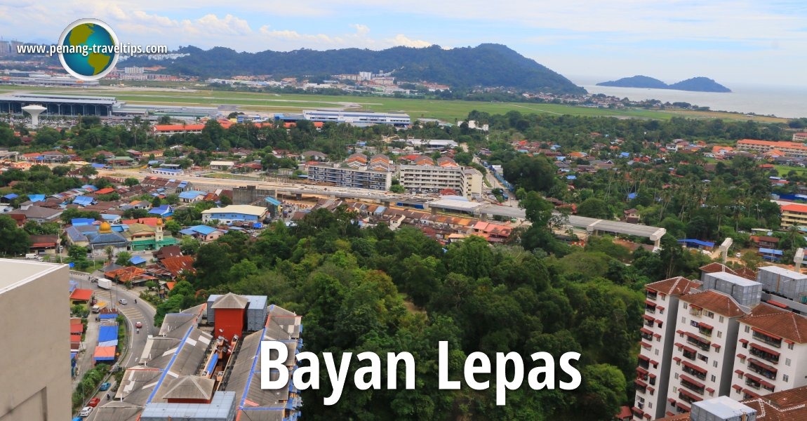 Aerial view of Bayan Lepas