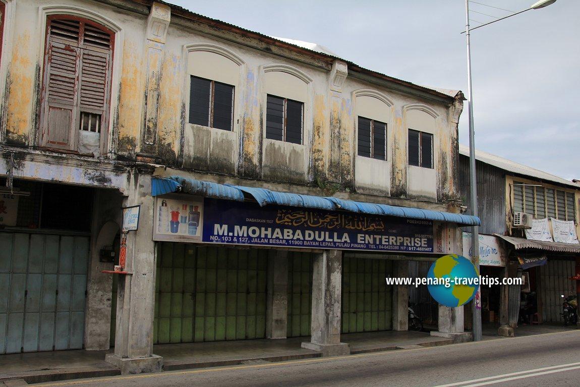 Bayan Lepas pre-war shophouse