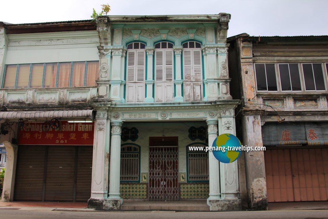 Bayan Lepas pre-war townhouse