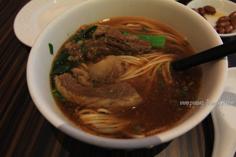Beef Brisket Noodles, Dragon-i