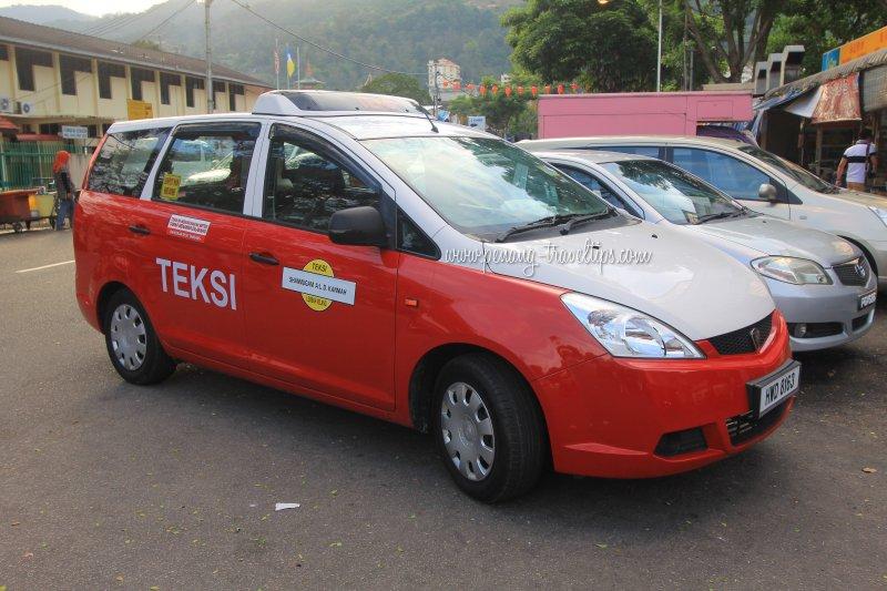 The regular budget taxi