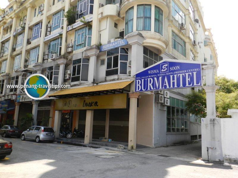 Burmahtel Hotel Pulau Tikus Penang