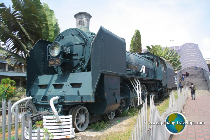 Vintage Train at Butterworth Railway Station