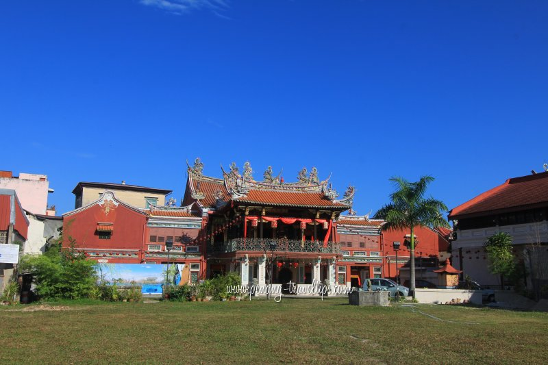 Cheah Kongsi, clan association and temple