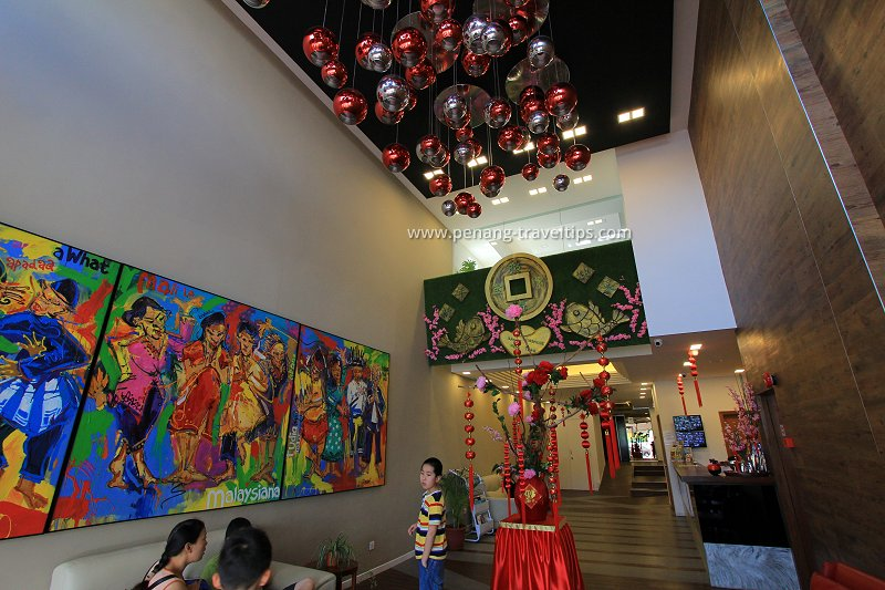 Chulia Mansion lobby
