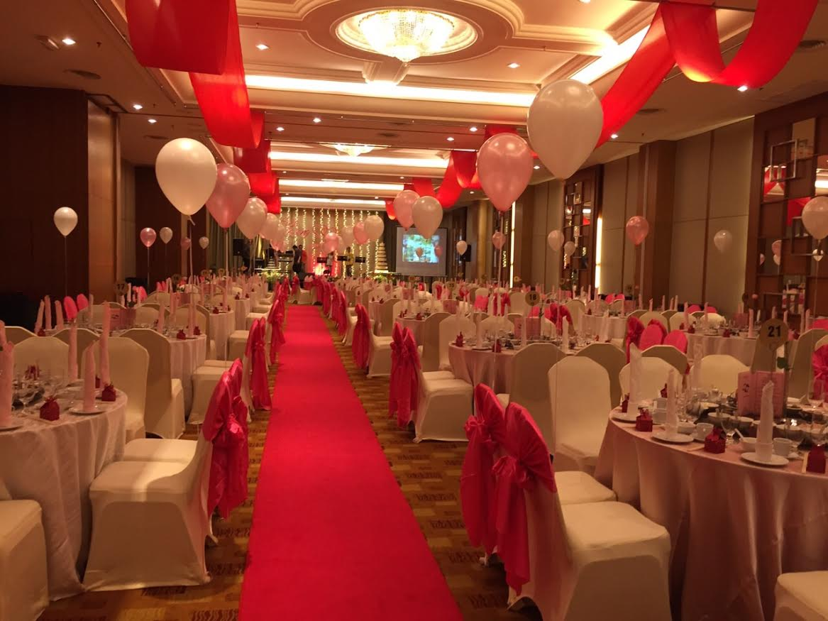 Wedding hall decoration penang just came back from penang tim and cititel wedding banquet hall decoration junglespirit Images