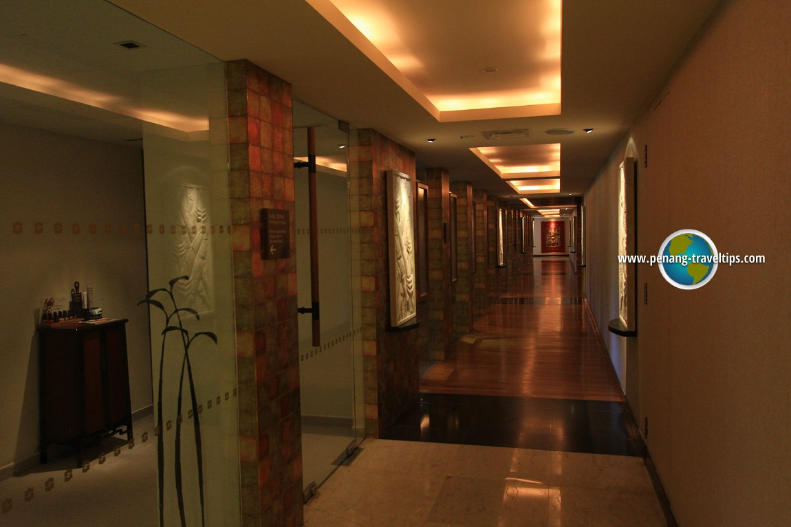 Corridor at Rasa Sayang Resort