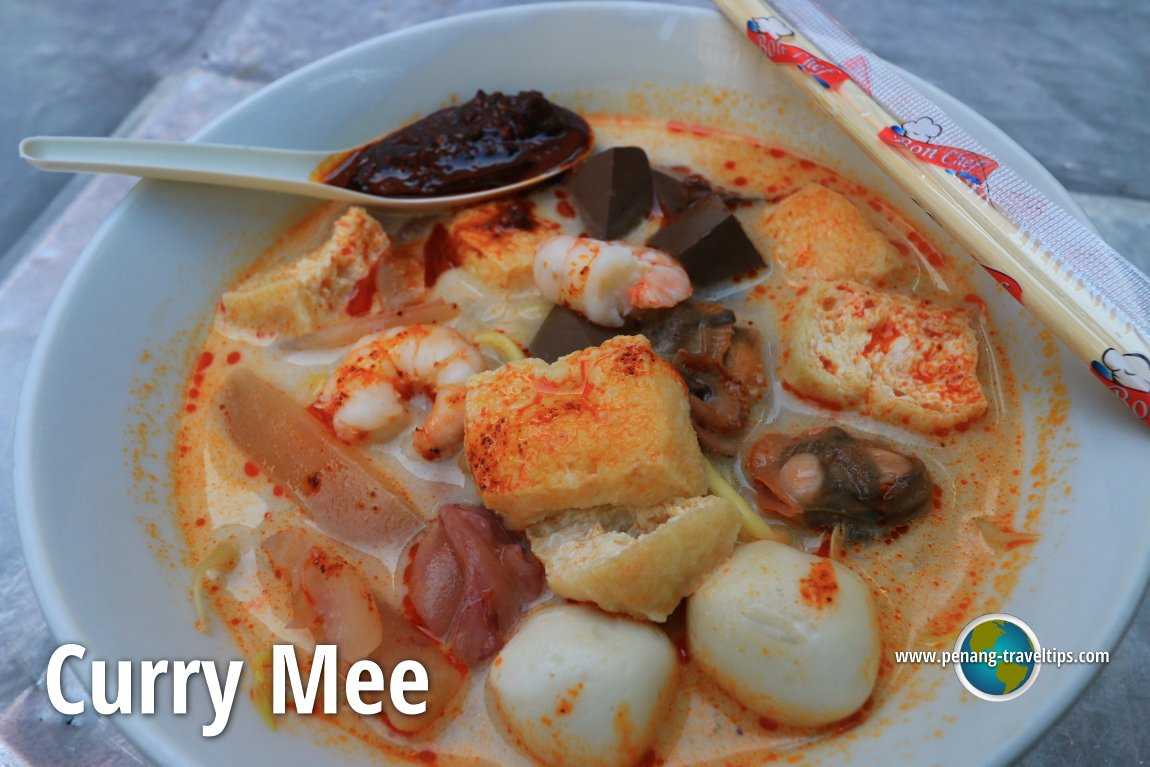 Curry Mee at Sin Yin Nam Cafe, New Lane
