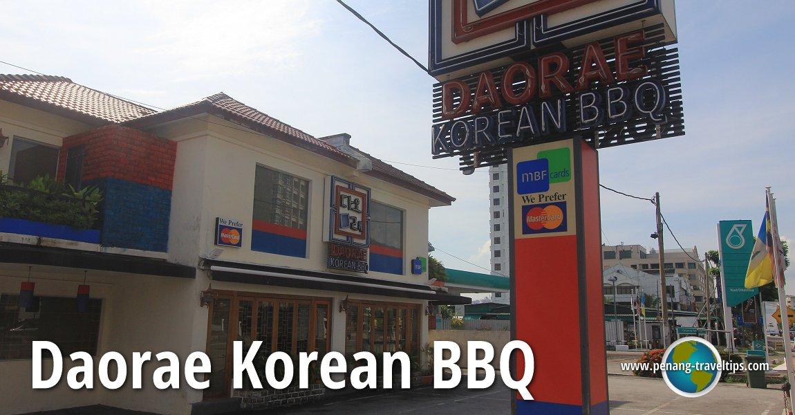 Daorae Korean BBQ, Tanjong Tokong