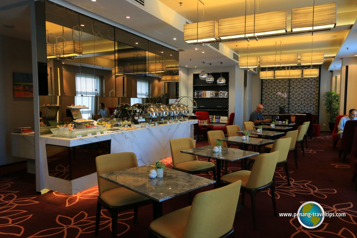 The Executive Lounge at Eastin Hotel Penang