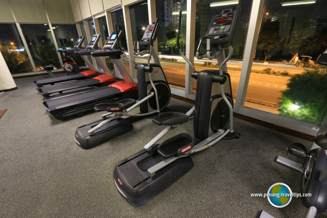 The gym at Eastin Hotel Penang