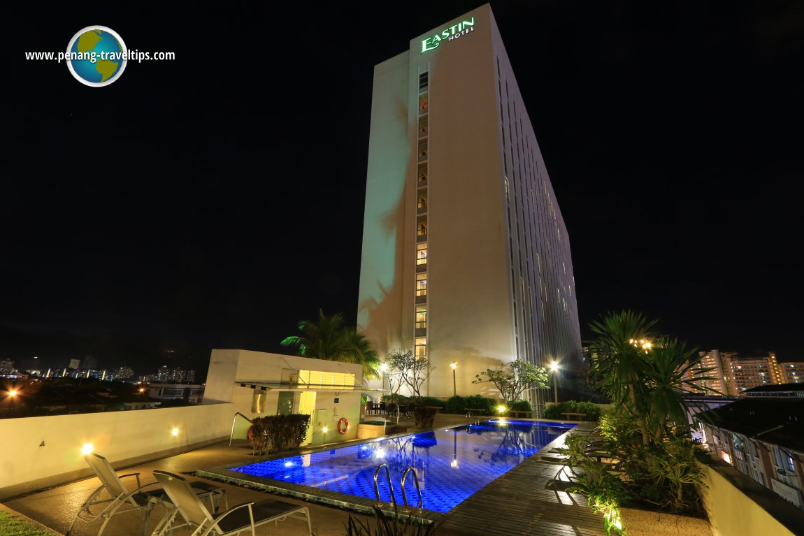 Eastin Hotel at night