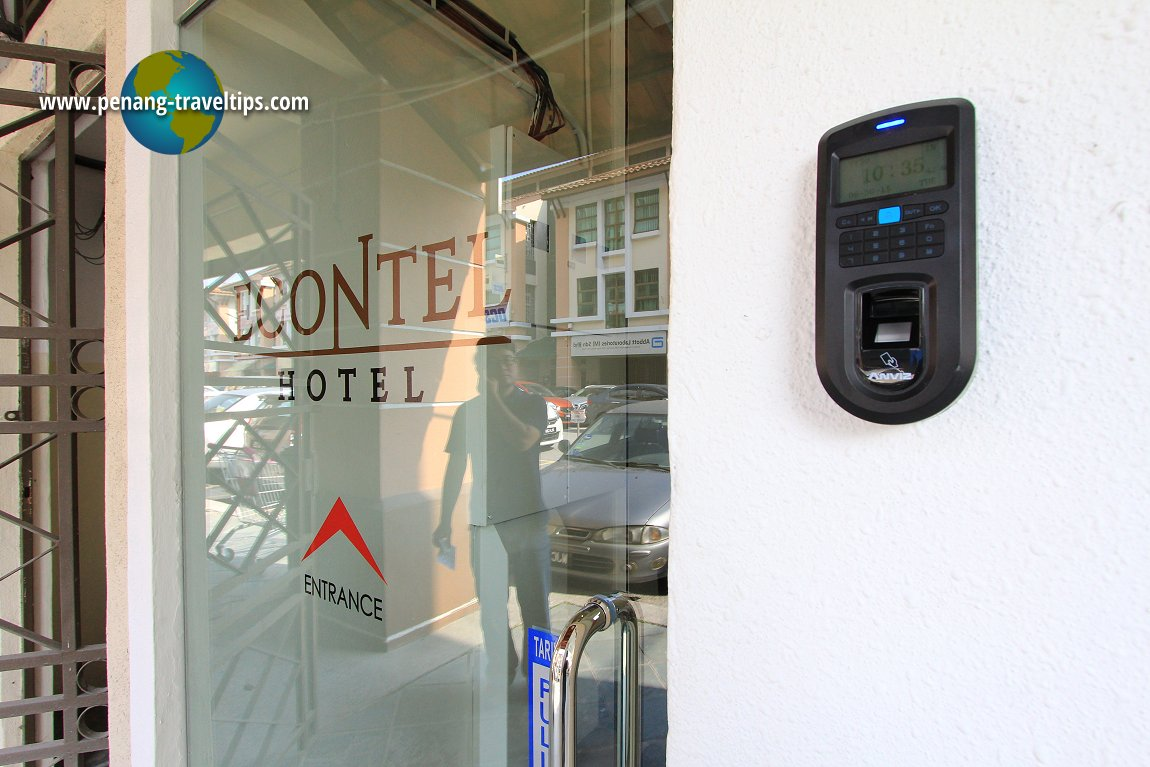 Security access to the guestrooms, Econtel