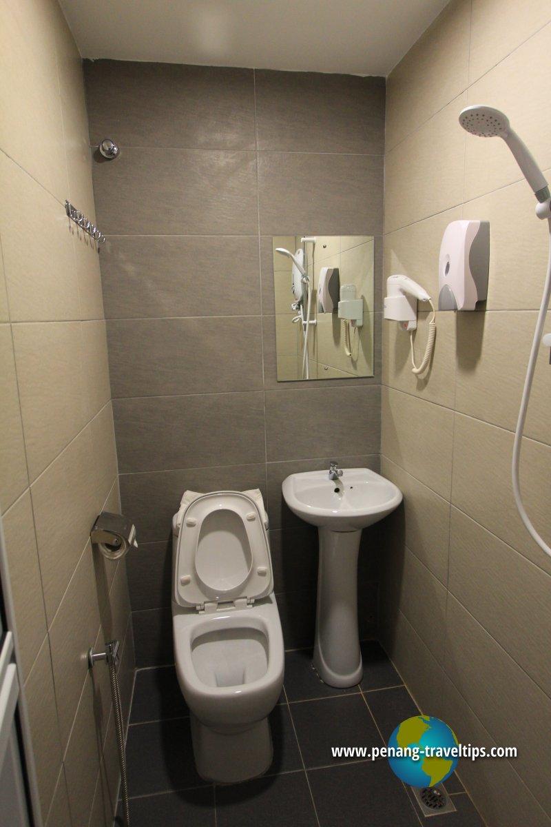 Guest bathroom, Econtel