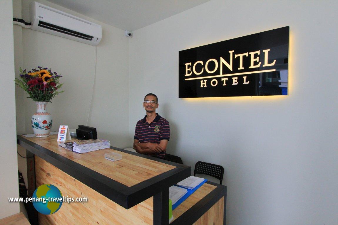 Front desk, Econtel