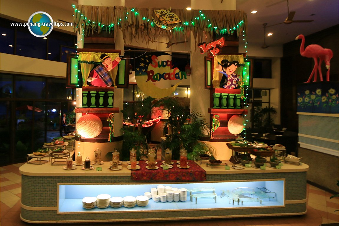 Kampung Ku Buffet, Flamingo Hotel By The Beach Penang