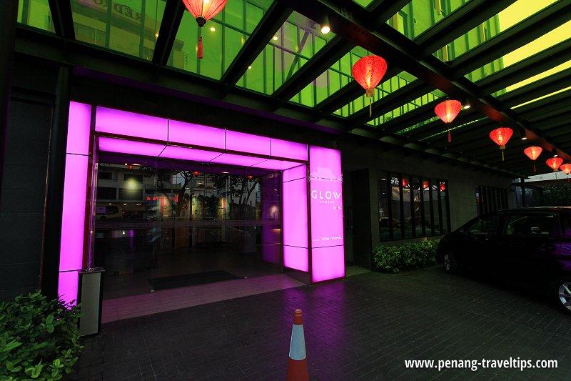 Entrance, GLOW Penang