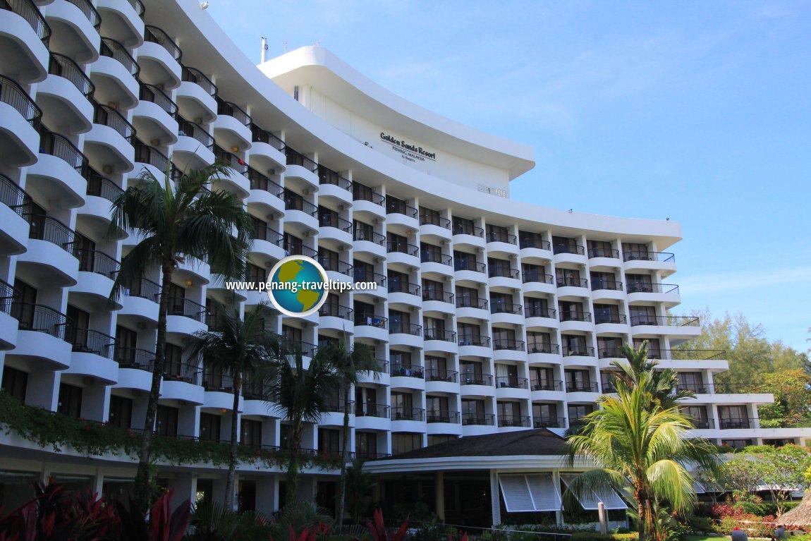 Golden Sands Resort building