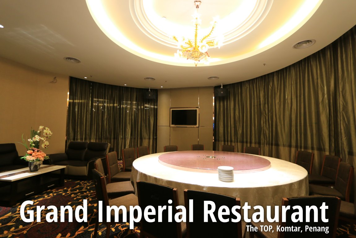 Private dining room, Grand Imperial Restaurant
