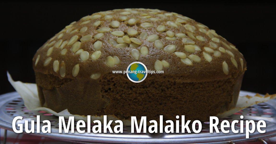 Gula Melaka Malaiko Recipe