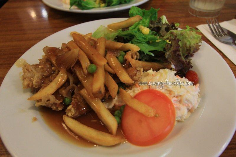 Hainanese Chicken Chop, Dave's Deli