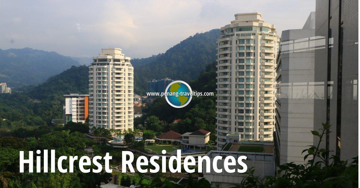 Hillcrest Residences, Bukit Jambul, Penang