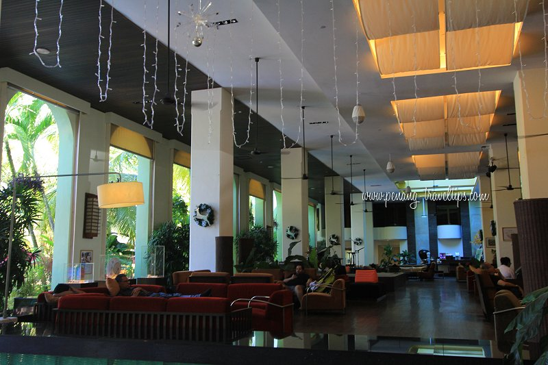 Interior of Parkroyal Penang