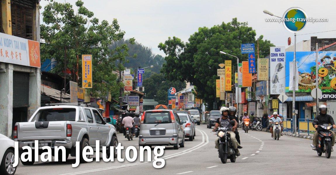 Jalan Jelutong, Penang