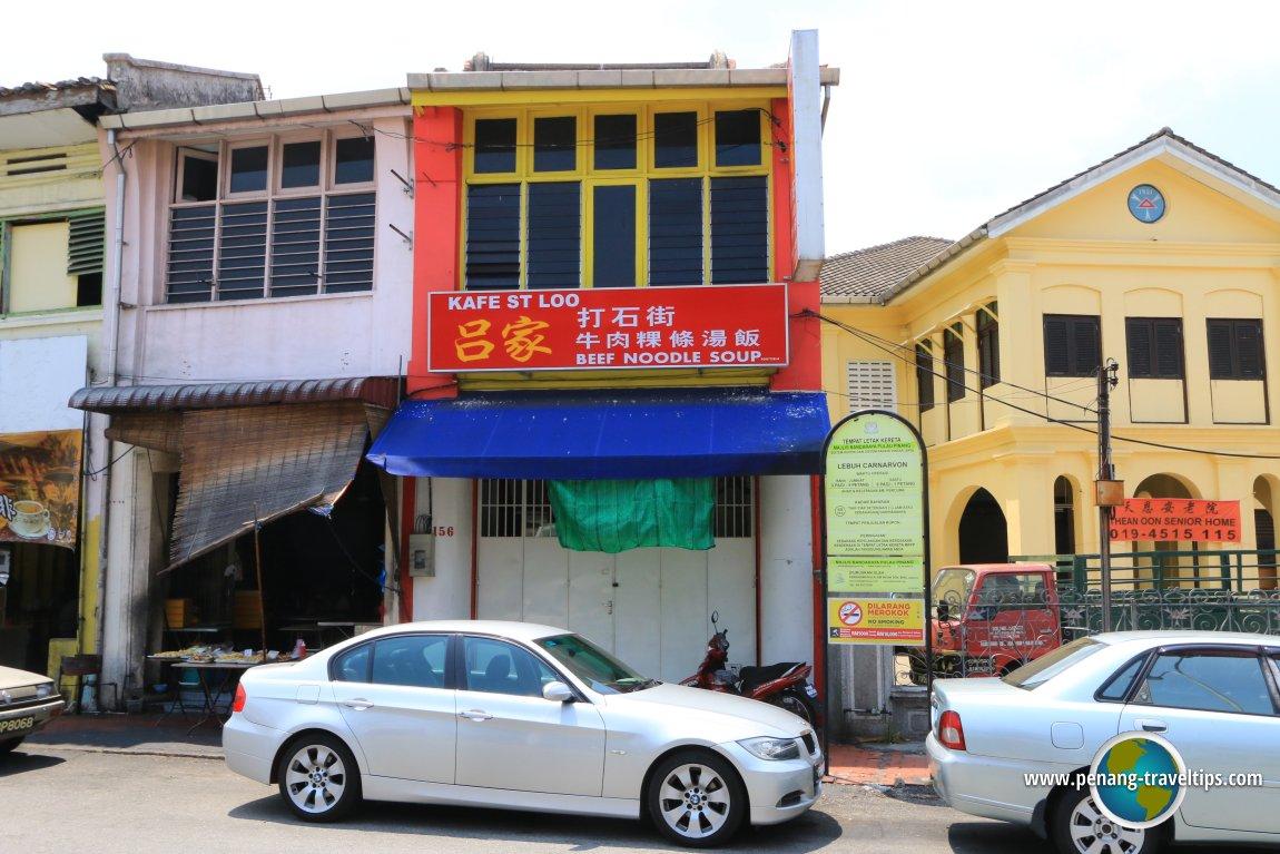 Kafe St Loo, Carnarvon Street