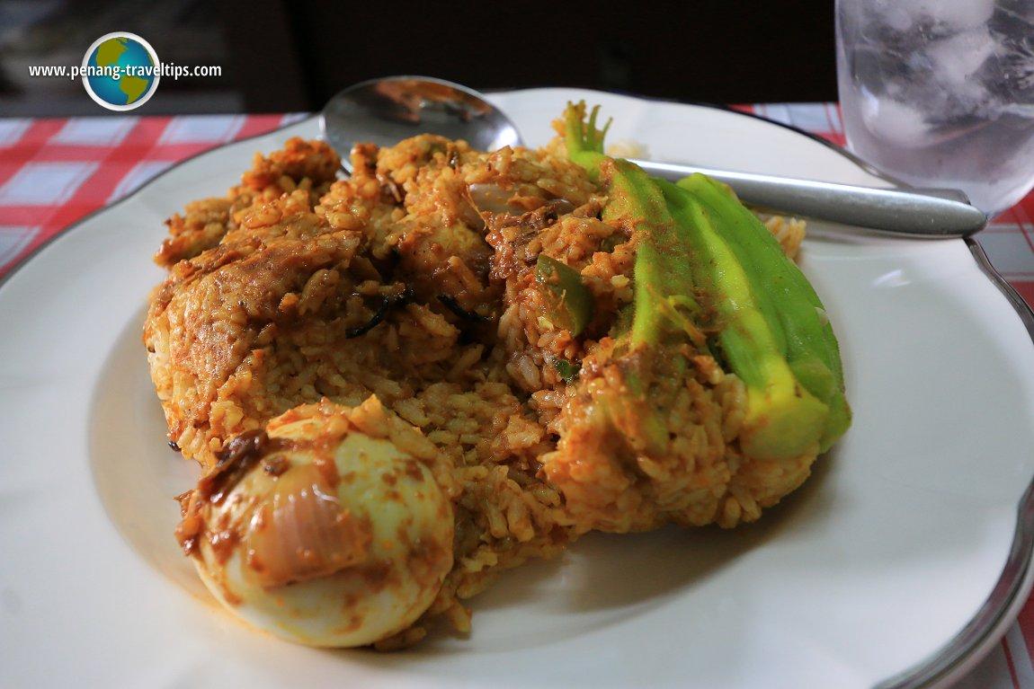 Nasi kandar from Kedai Kopi Melo